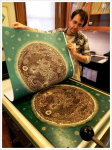 "Tugboat Printshop ""The Moon"" - Mid pull"